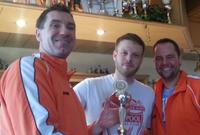 Überraschender Turniersieg der TVK Prellballer - Martin Rudolf (links) und Alexander Wayerhäuser (rechts)