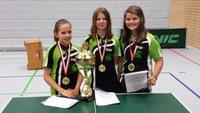 B-Schülerinnen Tischtennis-Kreispokalsiegerinnen 2015/2016