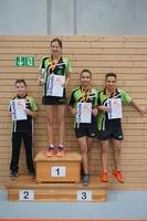 Siegerehrung Tischtennis-Vereinsmeister 2016 Fortgeschrittenengruppe
